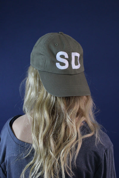 SD State Reppin' Hat (OLIVE)