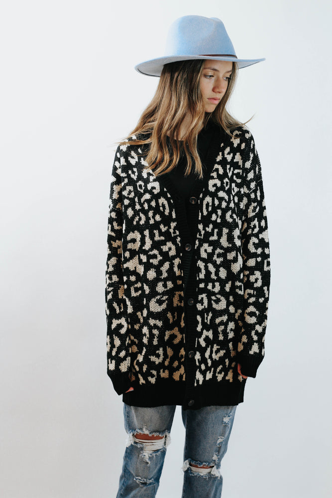 Leopard Love Cardigan