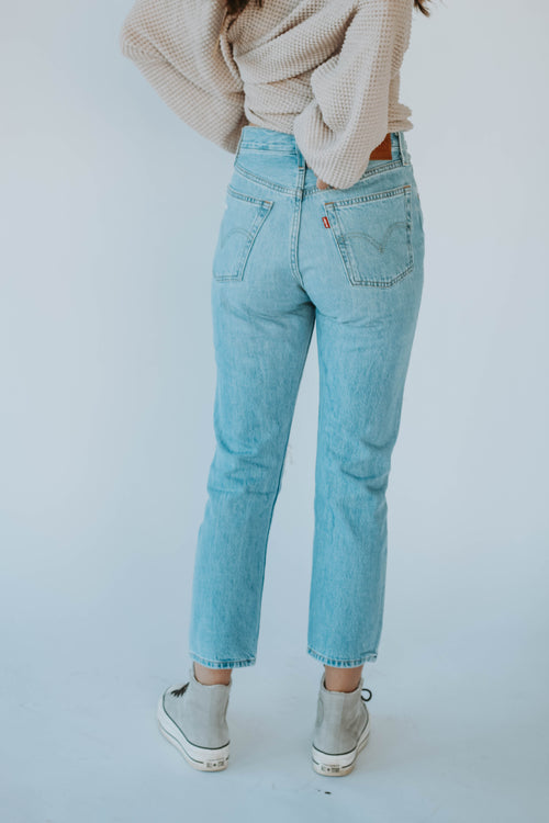 LEVI'S 501® CROP MONTGOMERY PATCHED