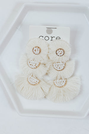 Three Layer Fringe (IVORY)