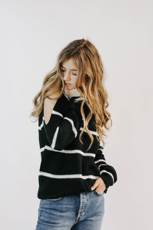 BF: Striped Life Sweater