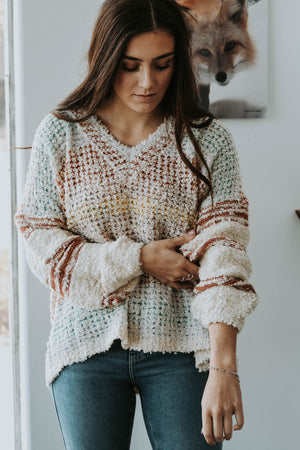 June Multi Stripe Sweater