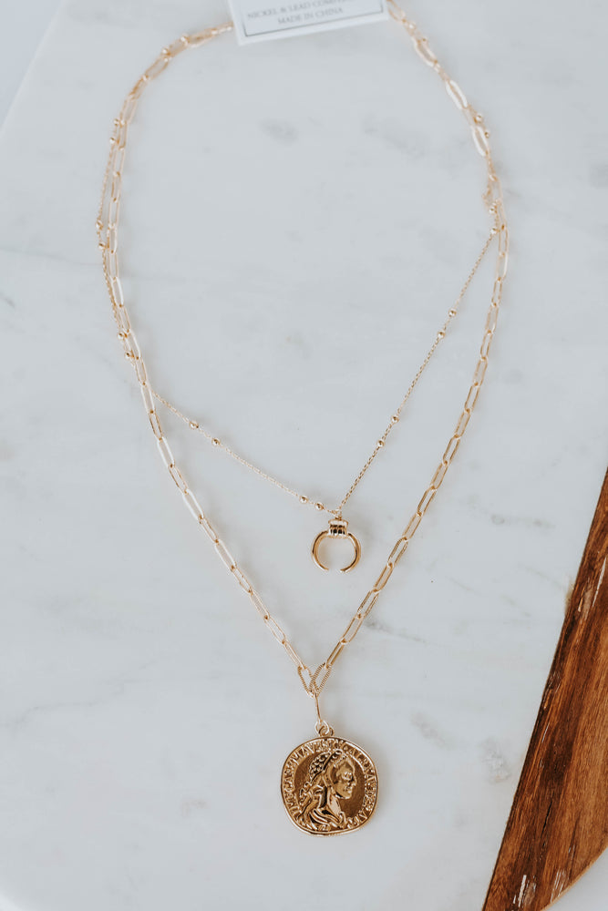 Millie Coin Necklace