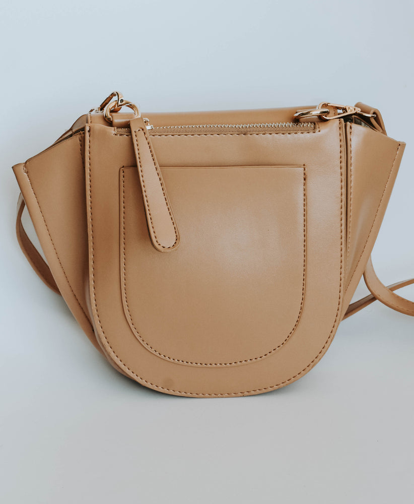 Sara Cross Body (Camel)