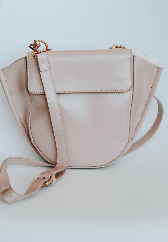 Sara Cross Body Bag (Blush)