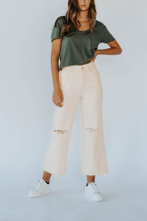 Free People: Ranger Denim Wide Leg Pants