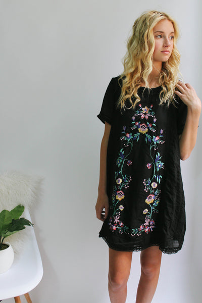 Vivian Embroidered Dress
