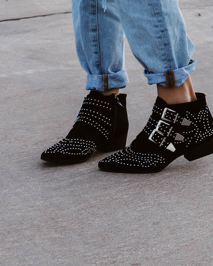 Ophelia Studded Bootie