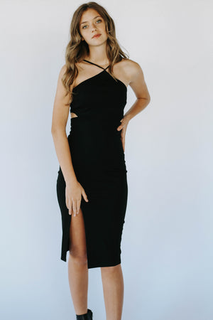 On The Town Dress (Black)
