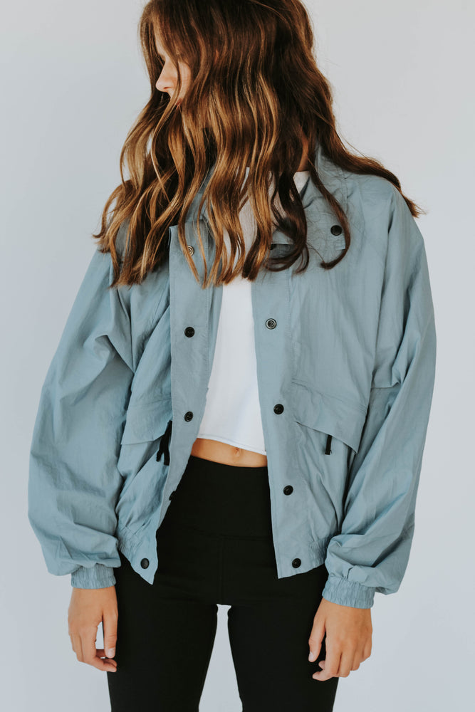 Seize The Day Windbreaker (Baby Blue)