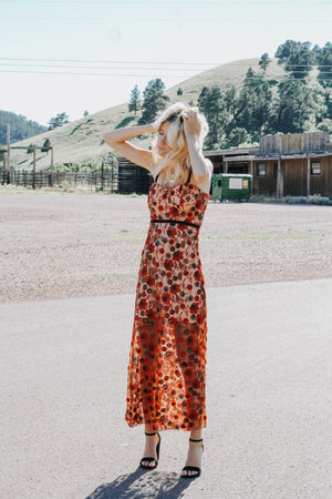 Siesta Beaded Sheer Dress (Free People Inspired)