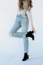 Free People: Chewed Up Denim