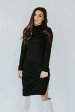 Joe Mock Neck Dress