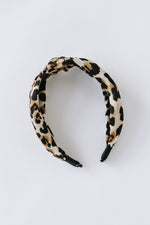 Leopard Turban Headband