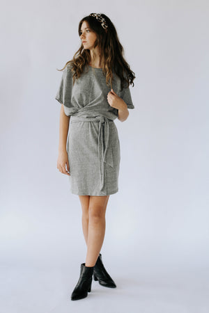Annette T-Shirt Dress in Olive