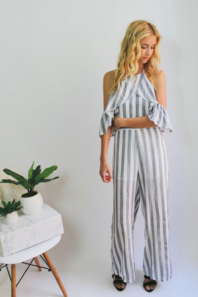 Greenville Stripe Jumpsuit