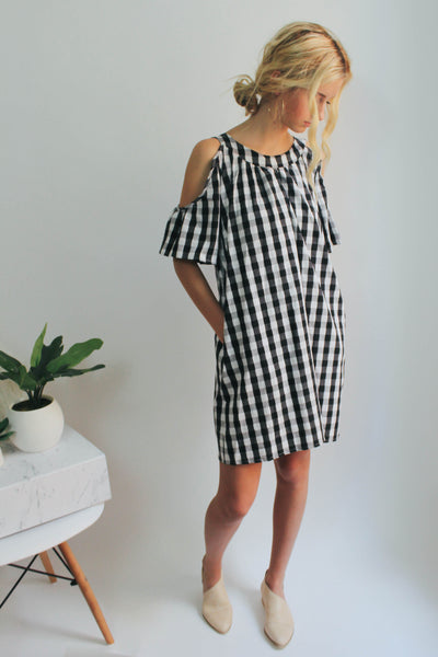 Buffalo Check Day Dress