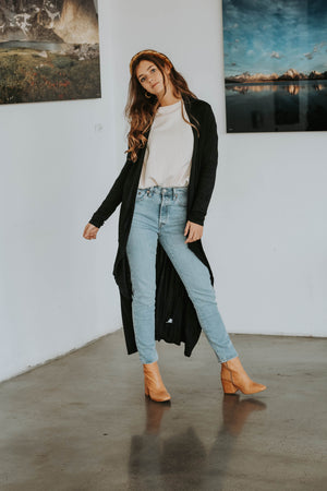 Phoebe Duster (Black)