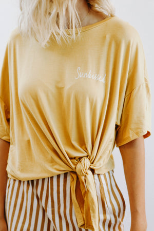 Sunkissed State Top