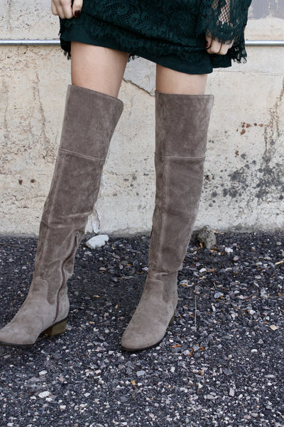 Jack Of All Trades Thigh High Boot