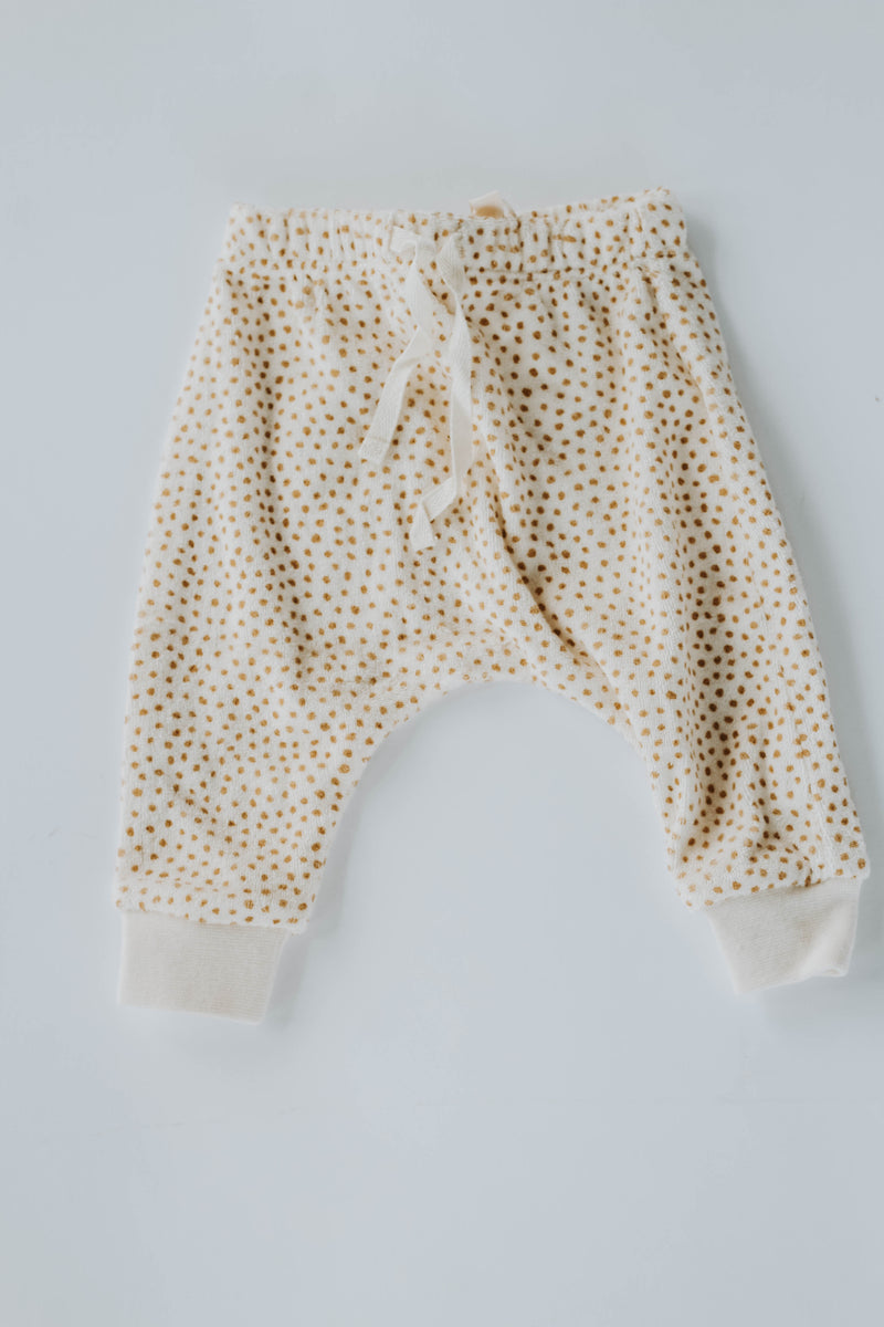 Quincy Mae: Terry Cloth Sweatpants (Ivory)