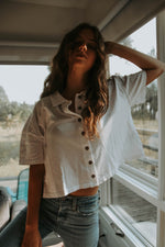 Free People: Weekend Rush Button Down