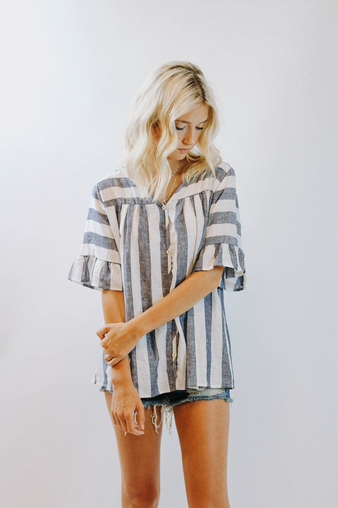 Country Club Stripe Tunic