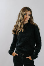 Sabrina Textured Sweater
