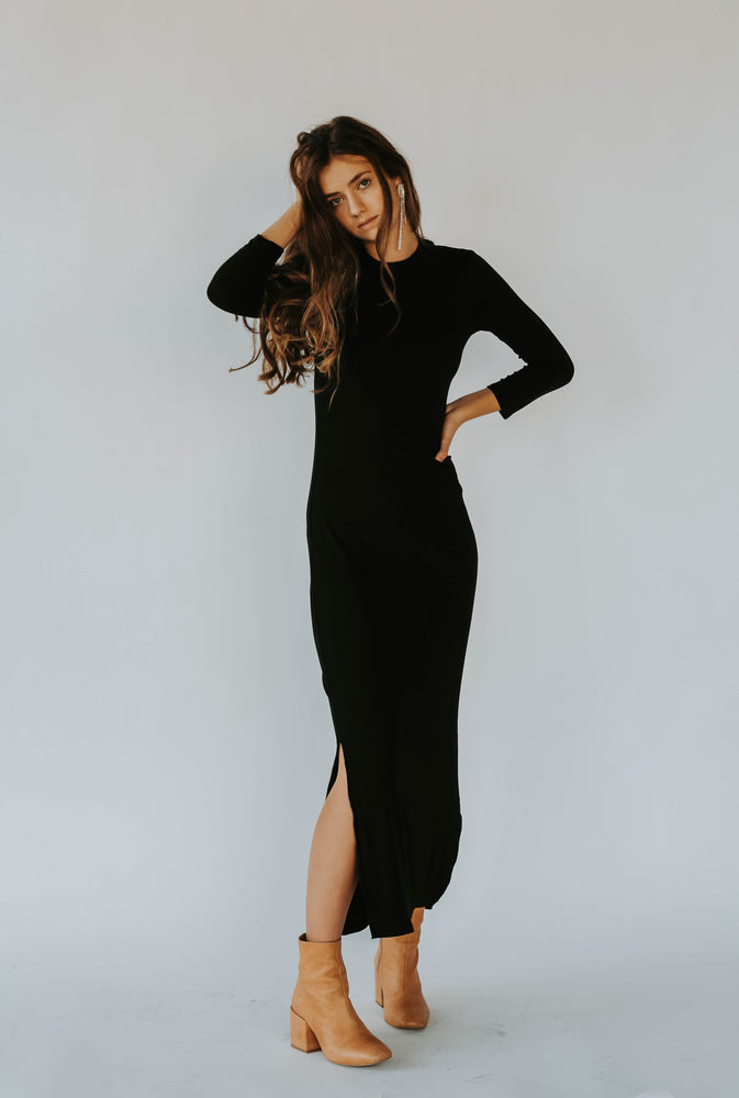 Black Friday 19: Cynthia Mock Neck Dress