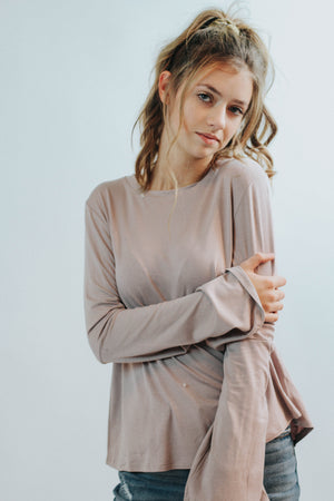 Free For All Top (Mauve)
