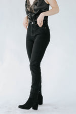 Free People: Stella Skinny Vintage Black