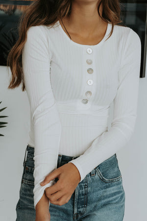 Black Friday 19: Mary Knit Top (White)