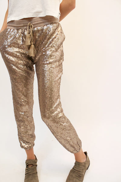 Pop Goes The Party Joggers (Rose Gold)
