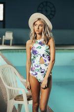Milly Keyhole Floral One Piece