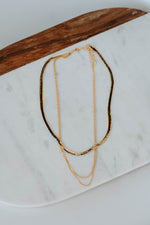 Double Rope Chain Necklace