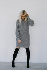 Black Friday Amber Sweater Dress (Grey)