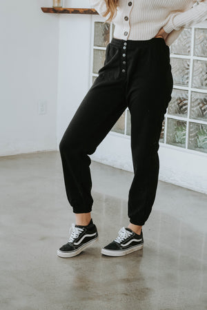 Black Friday 19: Nap Girl Joggers (Black)