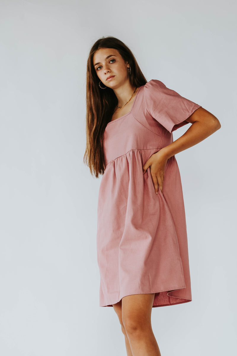 Midday Dress in Berry