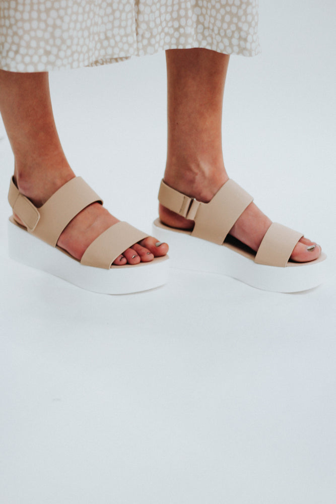 Around The World Platform Sandal