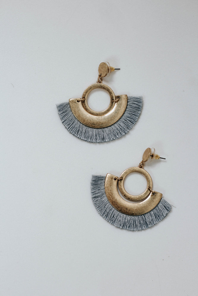 Morrison Earrings (Blue)