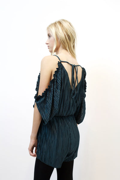 Choose Me Pleated Romper