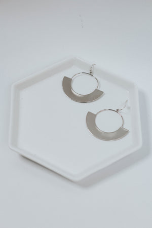 Geo Dangle Earrings