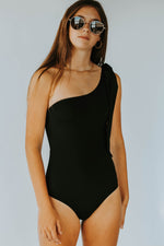 Elouise Cut Out Swimsuit- Black