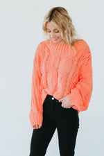 Sayler Sweater (Coral)