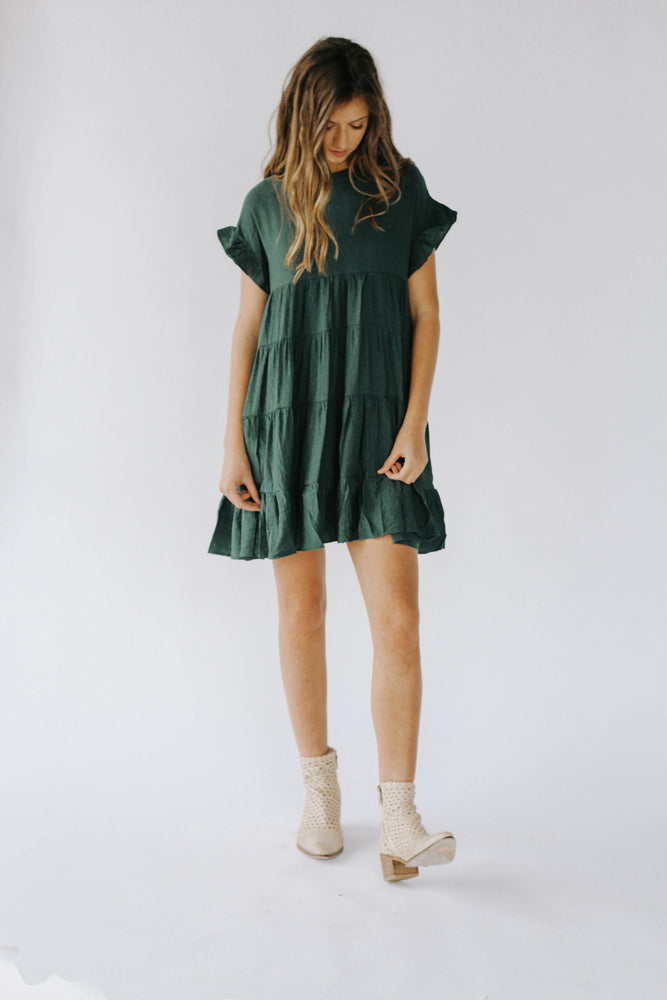 Picture Perfected Ruffle Dress