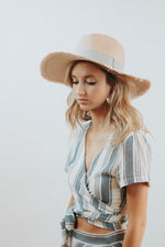 Summerland Straw Hat (Blush)