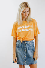 Life Is Better On Game Day Tee