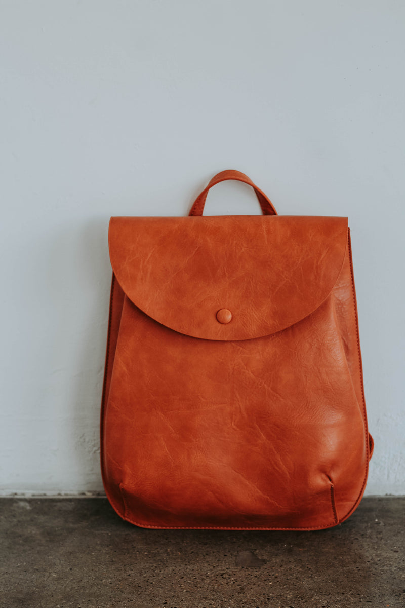 Bianca Convertible Back Pack (Rust)