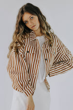 Charlie Stripe Down Jacket