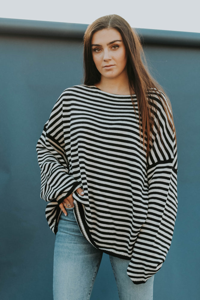 West Coast Stripe Sweater